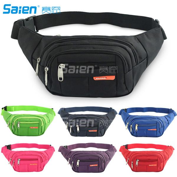 Outdoor Sports Backpack Casual Bags One Shoulder Bag Sling Bag Canvas Backpack Hiking Running Waist Bag Cross Over Shoulder Bags