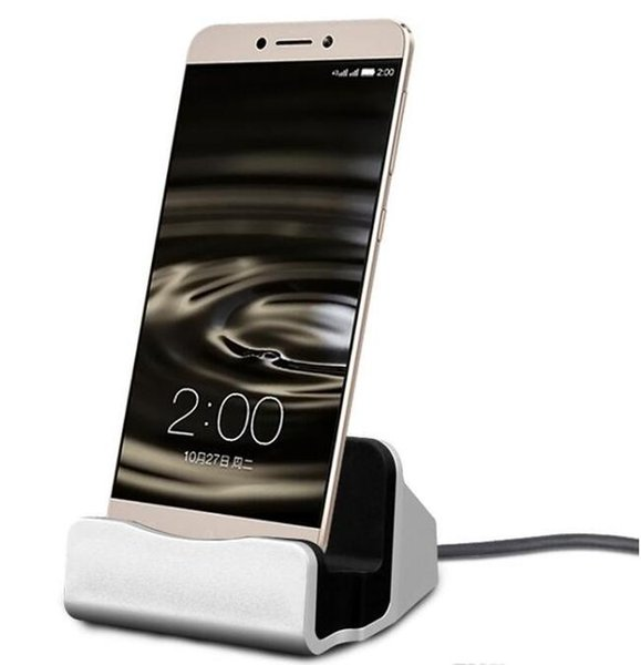 Mobile Phone Use and Electric Type Type-C Dock Charger charging Sync Desktop USB Cradle Station for Smartphones+free shipping