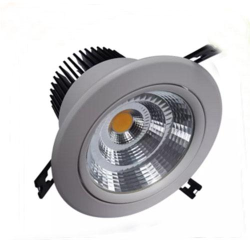 LED Downlight 7W/10W/12W/15W/20W/30W/40W/50W Recessed Ceiling Downlights Spot Light 110V 120V 220V 230V 240V Wall Down Lights LFA