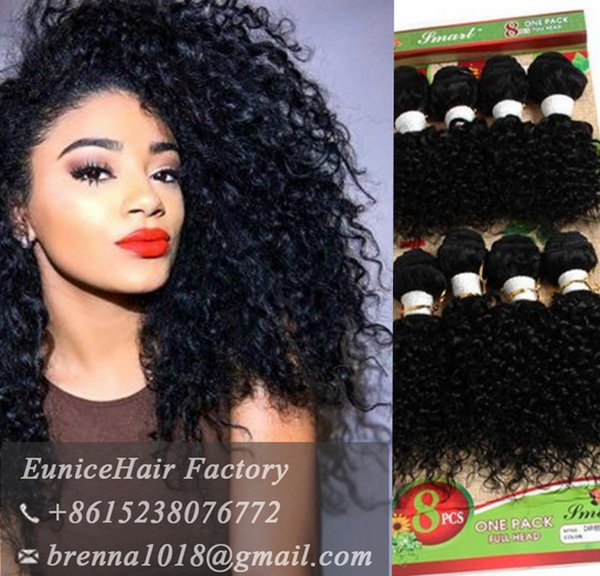 Human hair deep curly peruvian african weave bundles 8bundles/lot kinky curly hair women 8inch short weave extensions jerry curl hair bundle