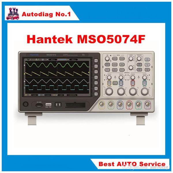 Hantek MSO5074F Osciloscopio MSO5074F Multimetro digitale USB LCD 4CH 70Mhz + 8 CH Logic Analyzer Strumento diagnostico