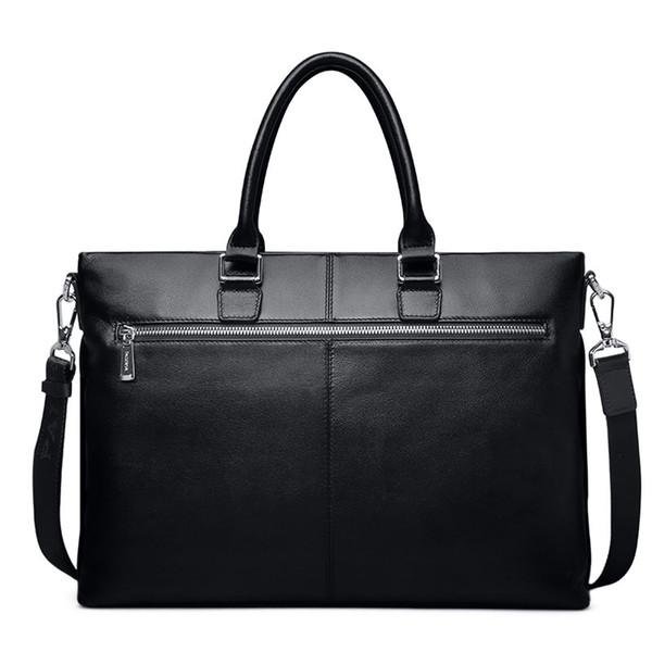 Europe and America Fashion design business name brand handbag men shoulder bag briefcase leather handbag laptop fashion men messenger bag