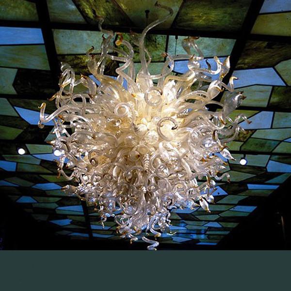 Ristorante Illuminazione Murano Luci del pendente Arte del vetro di Chihuly Style Hotel Lobby della sfera di cristallo luci di forma soffitto
