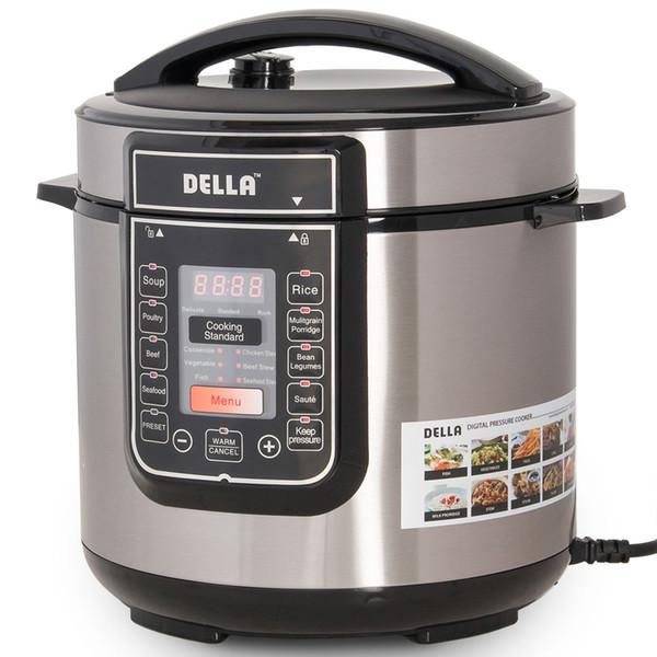 best selling 1000 Watt Multifunctional 6-Quart Electric Pressure Cooker Digital Programmable