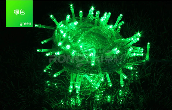 SXI free shipping 1pcs/lot AC100-250V 10m 100 bulbs decorative led string lights with 8 modes for approaching hot season