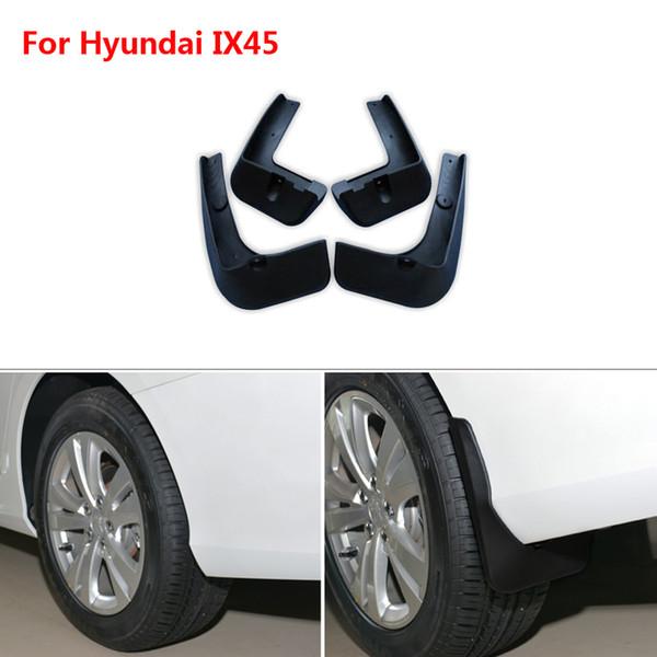 Nagelneues für Hyundai IX45 4pcs Qualitäts-ABS Schmutzfänger-Spritzschutz-Auto-Schutzblech-Schutzblech