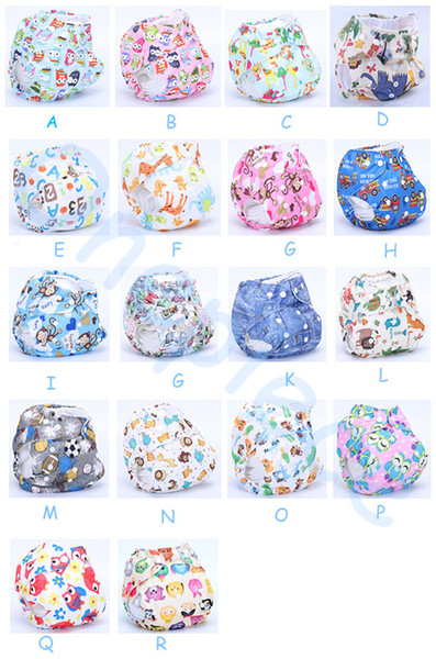 best selling 2014 High quality Organic Printed Cartoon Colorful baby Cloth diapers with insert Nappy Free Shipping
