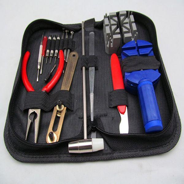 Набор инструментов для ремонта часов набор Zip чехол держатель открывалка Remover ключ отвертки часовщик смотреть аксессуары