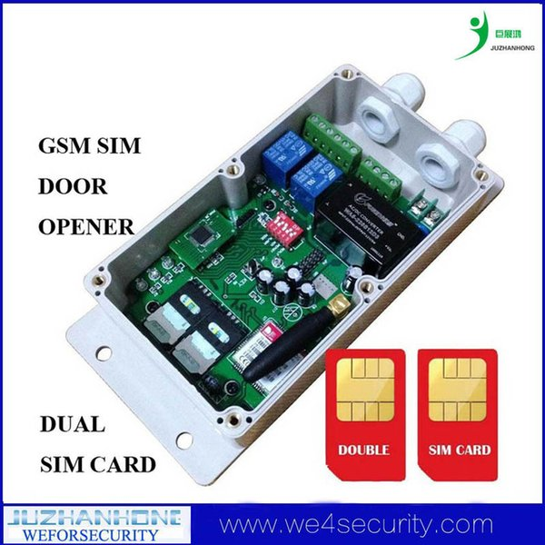 Großverkauf - G- / Mfernsteuerpult, G- / Mtoröffner-Prüfer, G- / Mtor-Tür-Zugangskontrollsystem-Kasten Doppel-SIM-Karte