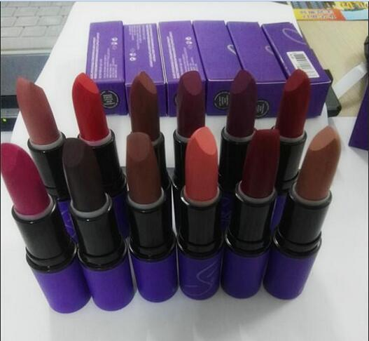 by DHL High quality New Arrivals hot makeup Selena dreaming With you matte lipstick 12 colors 3g (12 pcs / lot)