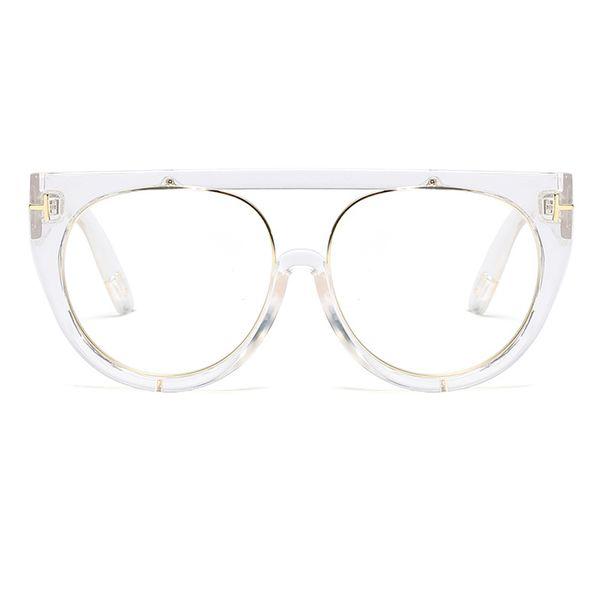 C3 Clear White Frame Clear Lens