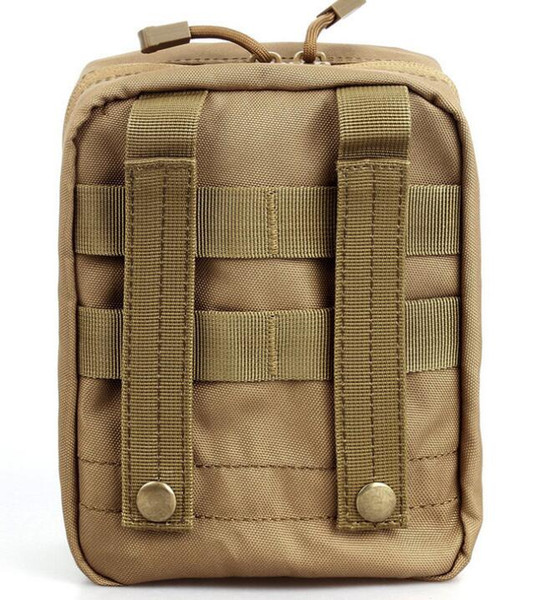 2017 Empty Bag for Emergency Kits Tactical Medical First Aid Kit Waist Pack Outdoor Camping Hiking Travel Tactical Molle Pouch Mini