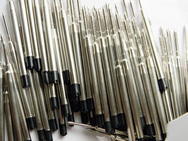 Großhandels-100pcs schwarze Kugelschreiber Refill Jinhao Schreibwaren Schule Schreiben Großhandel Pen Refill