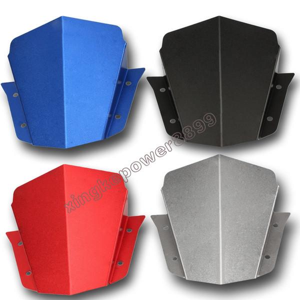 블랙 / 블루 / 레드 / 그레이 어퍼 헤드 라이트 탑 커버 패널 페어링 for 야마하 FZ-09 NEW