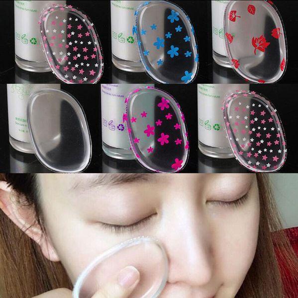 Increíble licuadora aplicador de maquillaje antiesponjas de silicona perfecta para cara cosmética