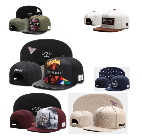 2017 hip hop cayler on napback cap ba eball hat