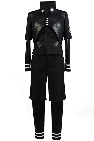 bf5c17596b7 Halloween Men s Tokyo Ghoul Ken Kaneki Jumpsuit Battle Uniform Cosplay  Costume