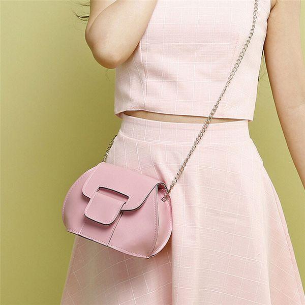 Wholesale- Brand new Fashion Shell Women Messenger Bags Cross body Bag Leather Mini Small Female Shoulder Bag bolsos 2016 Gift 1pc