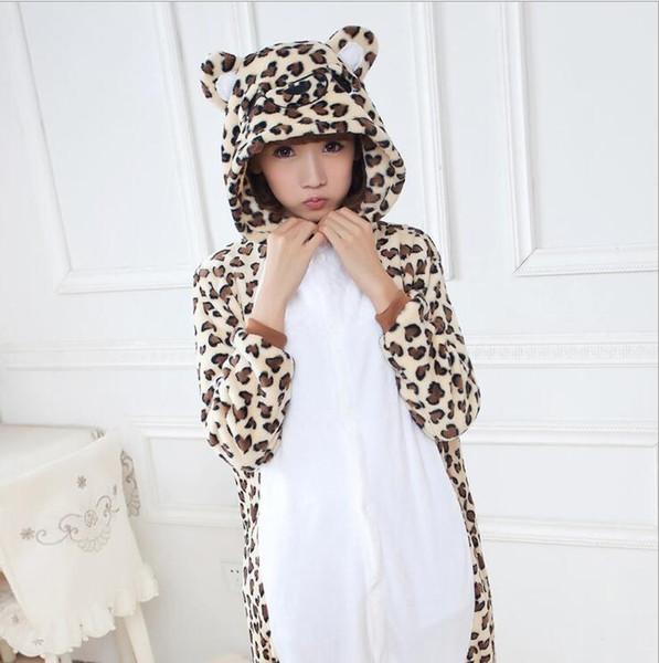 metà fuori 83926 f44c6 Acquista Pigiama Da Orso Adulto Con Stampa Leopardo A $26.4 Dal Dzx1216 |  DHgate.Com