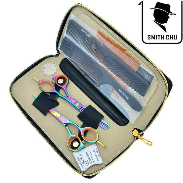 5.5Inch SMITH CHU Hot Selling Hair Scissors JP440C Hair Cutting Shears Thinning Scissors Barber Razor Hairdressing Beauty Salon , LZS0093