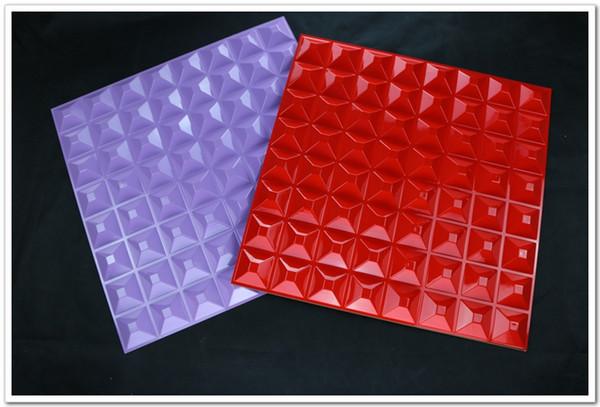 2017 New Design Modern Environmental Durable PVC 3d Wall Panel for Home Deco 3d Sticker Super Lightweight 3D Wall Board 40pieces 1box
