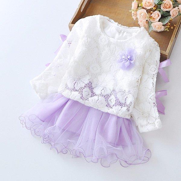 Bébé Fille Dress 2017 Nouvelle Princesse Infant Robes De Soirée pour Filles D'été Enfants tutu Robe Bébé Vêtements Toddler Fille Vêtements