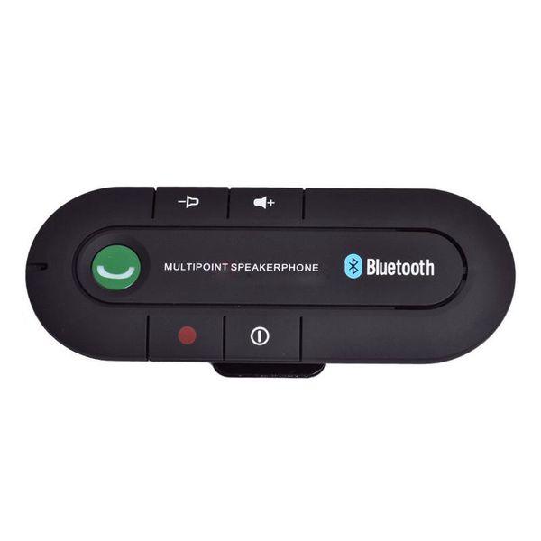 Wireless Sun Visor Handsfree Kit Bluetooth V3.0 In-car Multipoint Speakerphone Speaker Car-styling Bluetooth Car Kit Hands Free DHL FREE