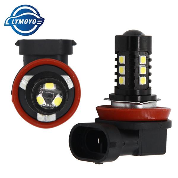 car led 1156 H3 T15 H11 9005 9006 ba15s 3030 15LED 50W DC12V 6000K White LED Fog Lights Bulb Super Bright Car Light Source
