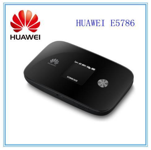 Unlocked Huawei E5786 300Mbps LTE Cat6 E5786s 32a 4g Lte MiFi Router Cat6  4g Lte Dongle Mobile Hotspot Pk E5776 E589 E5186 E5577 Dual Band Router  Dual