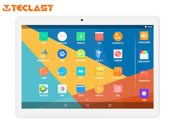 Wholesale- Teclast X10 3G Phone Call Tablet MTK8392 Quad Core Android 5.1 IPS 1920*1200 Screen 1GB RAM 16GB ROM GPS 10.1 inch Tablet PCs