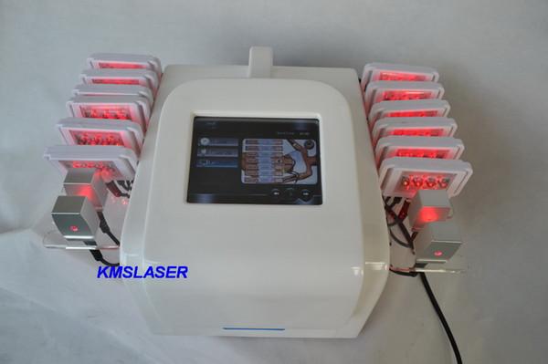 16 pedleri 650nm diyot lipo lazer yağ azaltma lipolaser makinesi