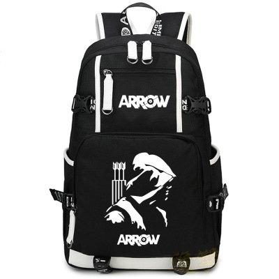 Arrow backpack TV play fans daypack Stephen Amell schoolbag Teleplay show rucksack Sport school bag Outdoor day pack