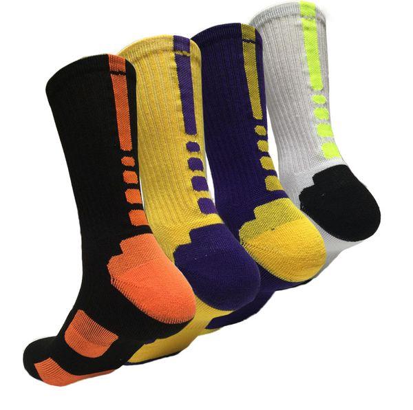 Высокое Качество Профессиональные США Элит Баскетбол Носки Длинные Колено Спортивные Носки Мужская Мода Сжатия Тепловые Зимние Носки оптовые