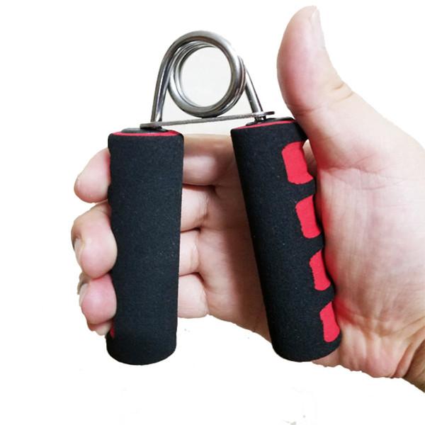 Venta al por mayor Suministros de gimnasio Espuma Esponja Agarre Fuerza Equipo deportivo Agarre con los dedos para el brazo Grips pesados Envío gratis