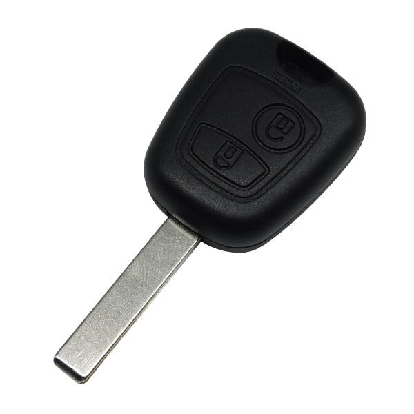 Remote Key Uncut Car Key Blade Fob Case Replacement Shell Cover For Citroen C1 C4 for Peugeot 307 407