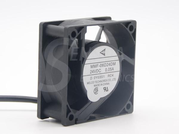 Новый Melco MMF-06D24DM RC4 для Mitsubishi инверторный вентилятор 6025 60m 6 см 24 в 0.05 a сервер охлаждающий вентилятор