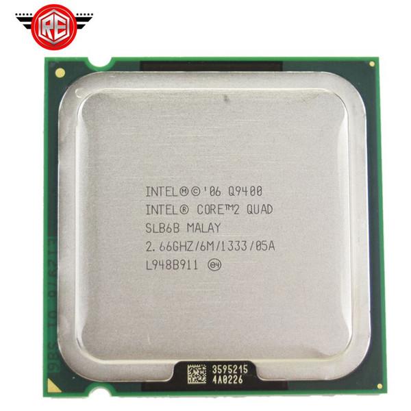 INTEL CORE 2 QUAD Q9400 Processor 2.66GHz 6MB L2 Cache FSB 1333 Desktop LGA 775 CPU