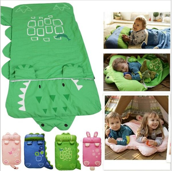 Animal Baby Sleeping Bag For Children Keep Warm Prevention Kicking