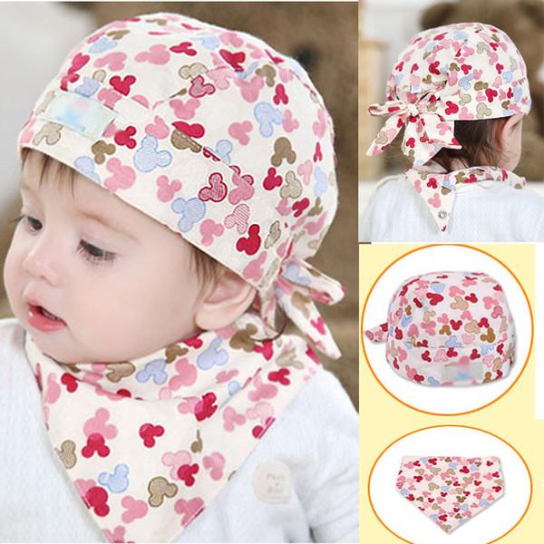 Оптово-Новорожденный ребенок Детские пиратские шляпы Шарф Cap Рукав головные уборы Костюмы Высокое качество, мягкие, эластичные, теплые нагрудники бандана нагрудные нагрудники