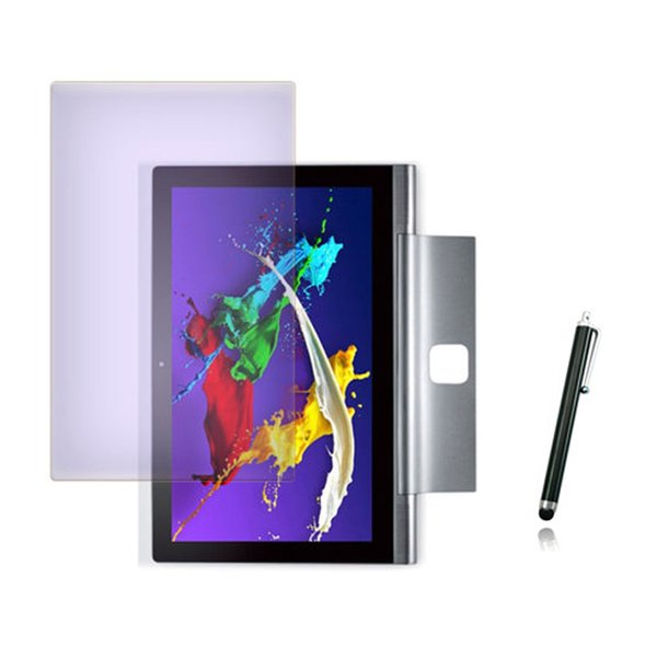 Wholesale- Anti-Glare Matted Screen Protector Films Protective Matte Film Guards +1x Stylus For Lenovo Yoga Tablet 2 Pro 13.3 1380 1380F