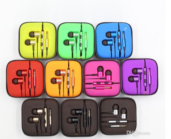 3 5mm metal xiaomi pi ton headphone earphone noi e cancelling in ear head et earphone with mic remote for xiaomi am ung iphone 6 6