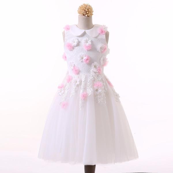 Großhandel Gute Qualität Kurzes Längen Blumen Mädchen Kleid Mit ...