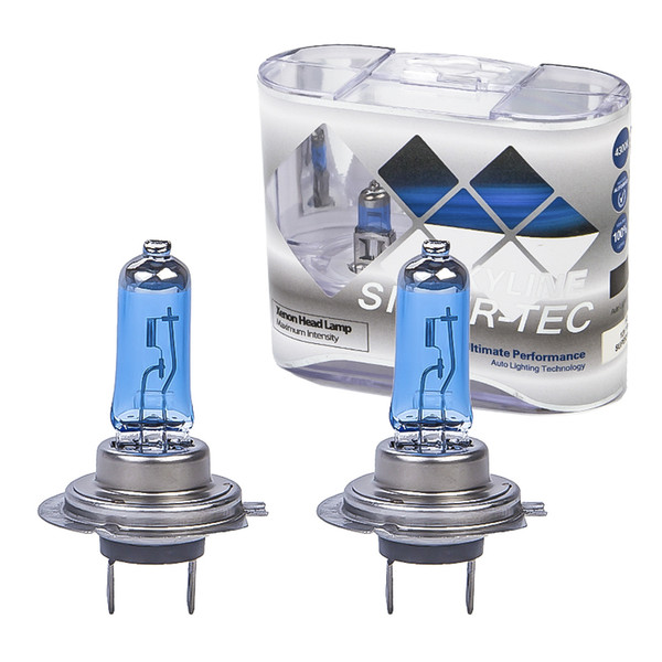2x Xenon H7 Halogen Light HOD Auto HeadLight Bulb Kit Low Beam White Fog Lamps Bulbs12V 100W 4300K-5000K Car light Car Styling