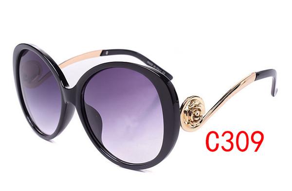 Moda Roman Gözlüğü Açık Marka Tasarımcı Gözlük Güneş Gözlüğü Lady Kadınlar Siyah Fermuar Moda Retro Orijinal Fermuar Kılıf ile