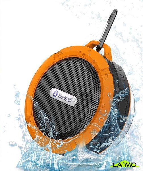 Best Selling Bluetooth 3.0 Wireless Speakers Waterproof Shower C6 Speaker with 5W Strong Driver Long Battery Life and Mic