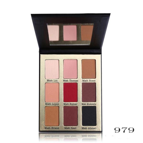 Professional 9 Color Meet Matt(e) Eye Shadow Palette COCOSH SHE Brand Makeup Set Nude Matte Eyeshadow Palette Make Up Cosmetics
