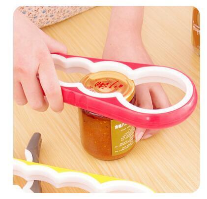 4 in 1 a forma di zucca apriscatole multiuso tappo a vite apri bottiglia coperchio grip chiave accessori da cucina dhl libera il trasporto TOP1665