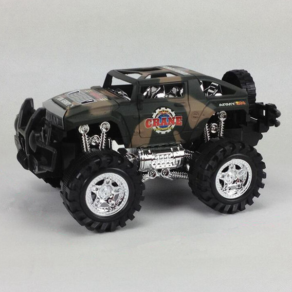 Friction Powered Off-Road Vehicle Cross-country Race SUV Inertia Toy Car Children Exquisite Realistic Toys Jeep Models for Kids 36 Pcs