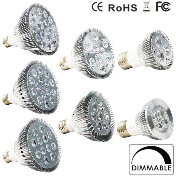 top popular Dimmable Led bulb par38 par30 par20 85-240V 9W 10W 14W 18W 24W 30W E27 LED Lighting Spot Lamp light downlight 2019