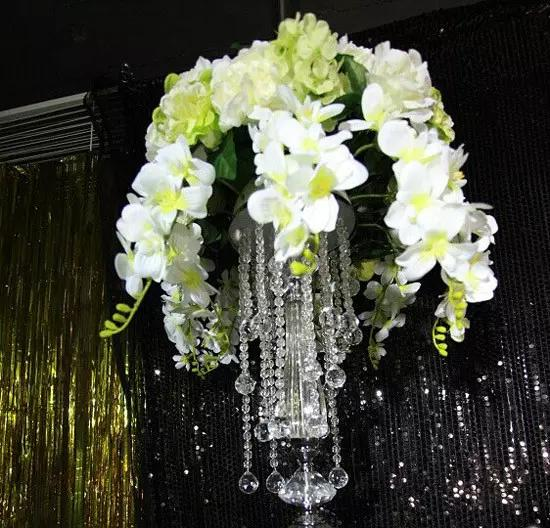 best quality crystal wedding aisle decor centerpieces for weddings ,big event decoration